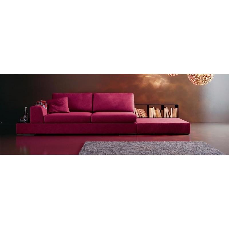 Divano sheslong divani di design divanissima mosciano teramo for Divani di design