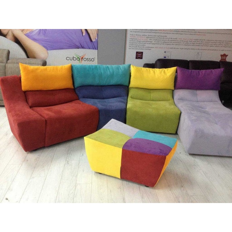 Arlecchino divani di design for Divani in pelle di design